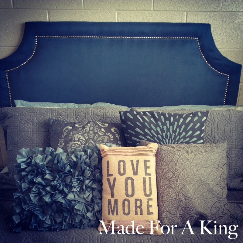 Finished DIY Headboard!